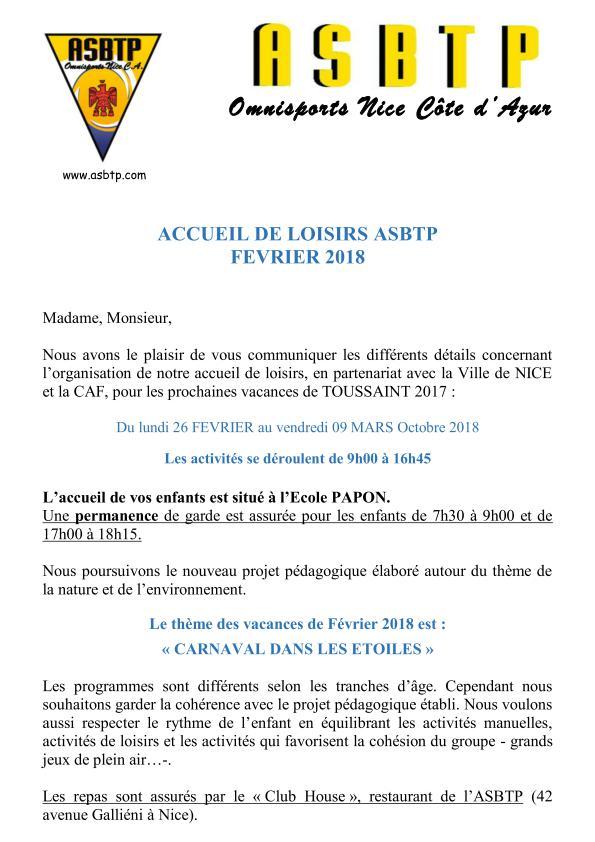 ASBTP ACCUEIL DE LOISIRS COURRIER FEVRIER 2018_page_001