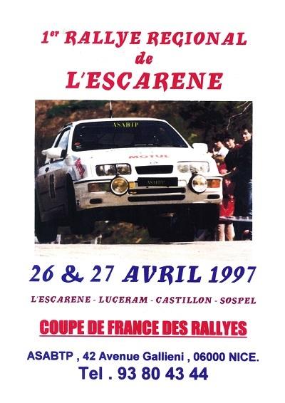 1er Rallye Esc 97 A
