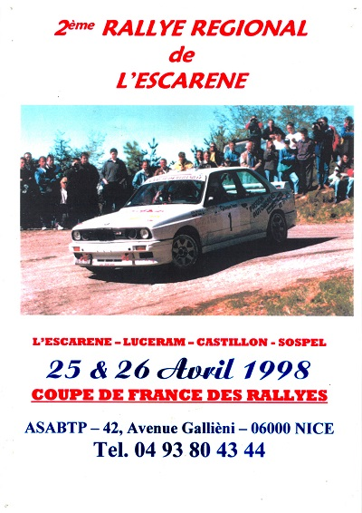 2eme Rallye Esc 98 A