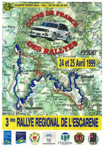 3eme Rallye Esc 99 A