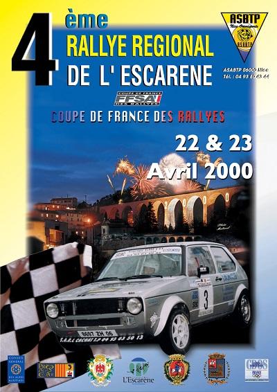 4eme Rallye Esc 2000 A
