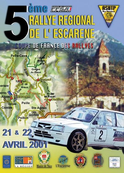 5eme Rallye Esc 2001 A