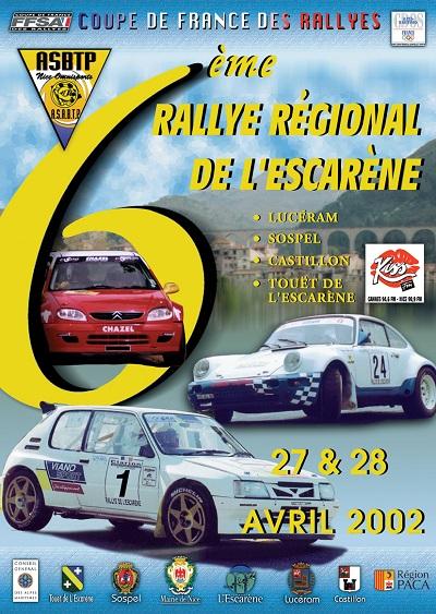 6eme Rallye Esc 2002 A