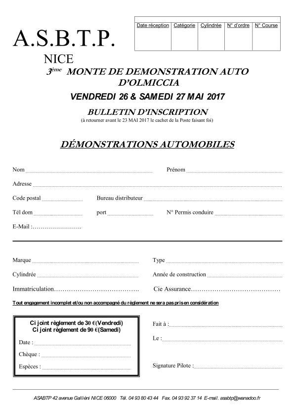 2017 - Bulletin d'engagement AUTO_page_001