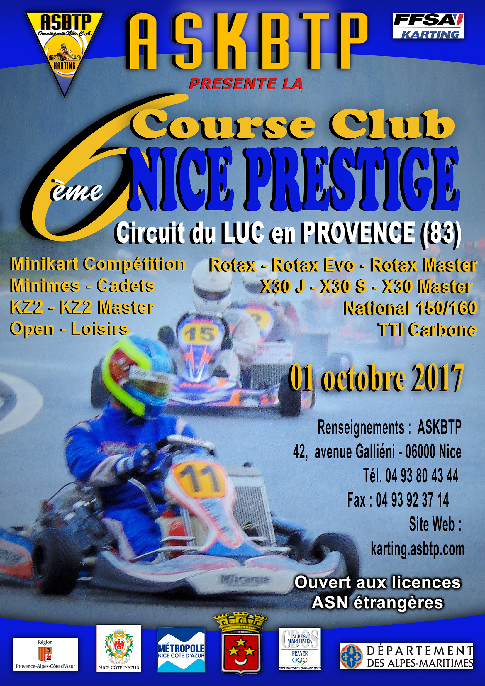 6èmeCourse Club du LUC 2017