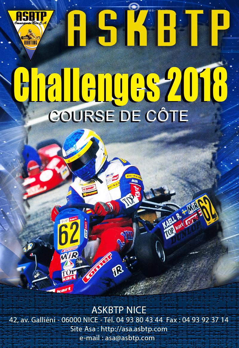 Couv Challenge Karting 2018