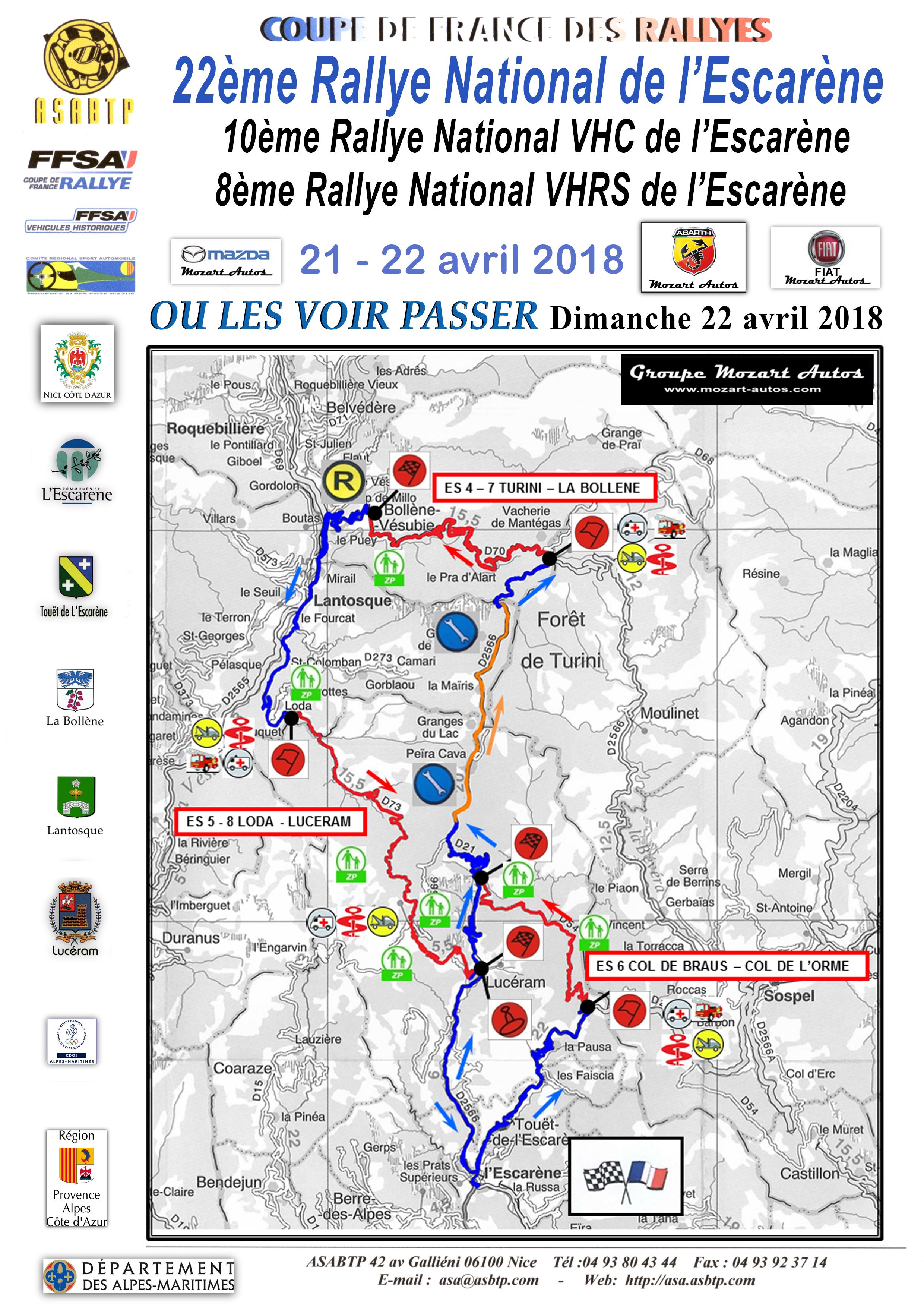 Carte Rallye 2018 A4 dimanche